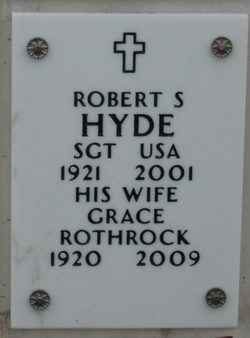 Grace Arlene <i>Rothrock</i> Hyde