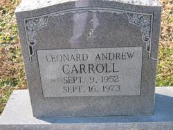 Leonard Andrew Carroll