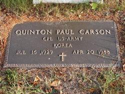 Quinton Paul Carson
