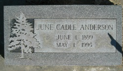 June <i>Cadle</i> Anderson