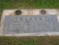 Hattie Helen <i>Reeves</i> Baker