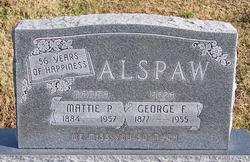 Mattie P Alspaw