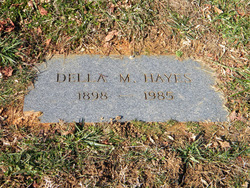 Della M. <i>Crow</i> Hayes