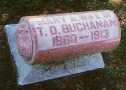 Mary Ann <i>Watson</i> Buchanan