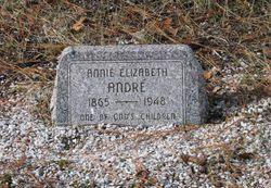 Anna Elizabeth Annie <i>Raker</i> Andre