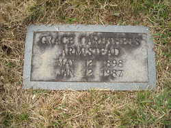 Grace Virdie <i>Caruthers</i> Armistead