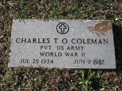 Charles T O Coleman