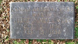 Kansas <i>Andrews</i> Webb