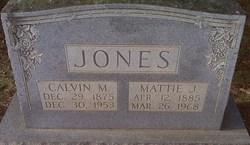 Mrs Martha Ann Mattie <i>Jones</i> Jones