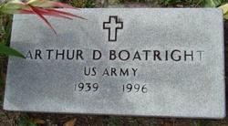 Arthur Dewey Boatright, Sr