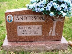 Marion Channing Pete Anderson