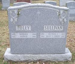 Mary Frances <i>Foley</i> Sullivan