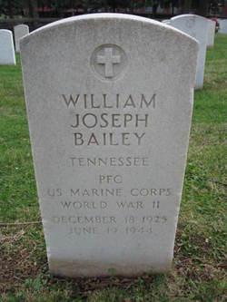 PFC William Joseph Bailey