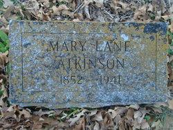 Mary Jane <i>Lane</i> Atkinson