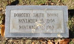 Dorothy <i>Smith</i> Boone