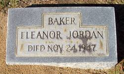 Eleanor <i>Jordan</i> Baker