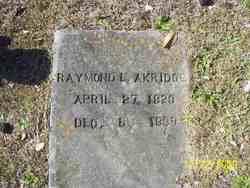 Raymond L Akridge