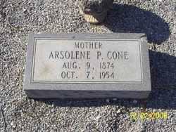 Arsolene Josephine <i>Parham</i> Cone