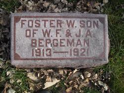 Foster W Bergeman