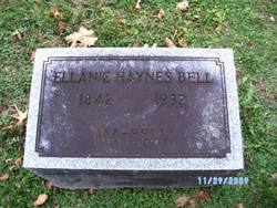 Ellaine Ma Bell <i>Haynes</i> Bell
