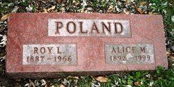 Alice M <i>Gough</i> Poland