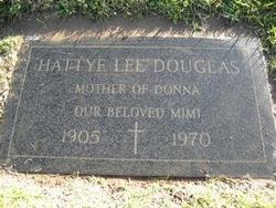 Hattye Lee <i>Skelton</i> Douglas