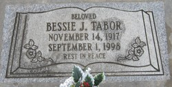 Bessie Juanita <i>Barnes</i> Tabor