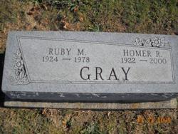 Homer R Gray