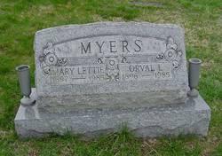 Mary Lettie <i>Tennant</i> Myers