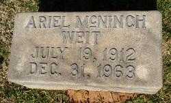 Ariel <i>McNinch</i> Weit