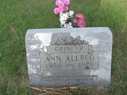 Ann <i>Grinder</i> Allred