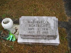 Mae Evelyn <i>DeMooney</i> Boatright