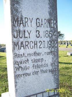 Mary Lucinda <i>Halsell</i> Garner