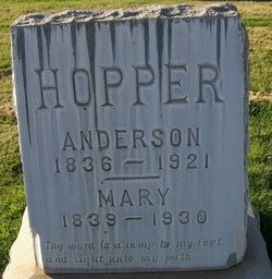 Mary Ann <i>Fletcher</i> Hopper