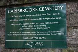 Carisbrooke Cemetery