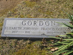 Elizabeth <i>Johnson</i> Gordon