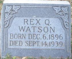 Rex Q Watson