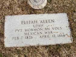 Pvt Elijah Allen