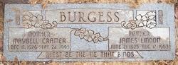 Maybell Zina <i>Cramer</i> Burgess