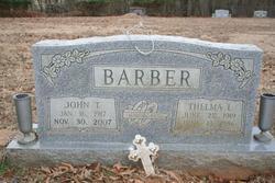 John T Barber