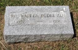 Rev Warren Rodee Zeh