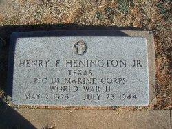 Henry Franklin Henington, Jr