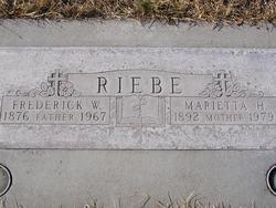 Frederick W. Riebe