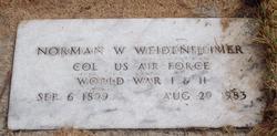Norman William Weidenheimer
