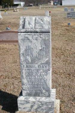 Annie Day <i>Throop</i> Foster