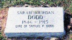 Sarah Jane <i>Jourdan</i> Dodd