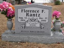 Fannie Florence <i>Absher</i> Rantz