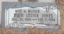 Ruth <i>Lester</i> Jones