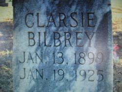 Clarsie Mae <i>Brown</i> Bilbrey