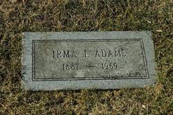 Erma Idelia <i>Adams</i> Adams